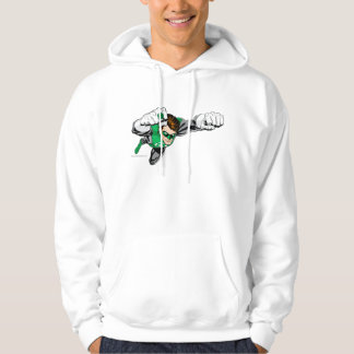 Green Lantern - Comic, Flying Right Hoodie