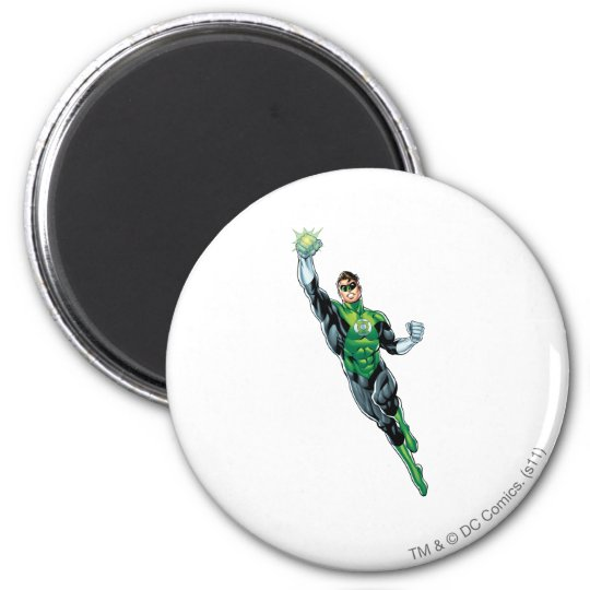 Green Lantern - Comic, Flying Up Magnet