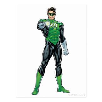 Green Lantern - Comic, Standing Postcard