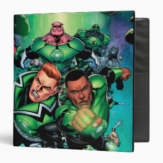 Green Lantern Corps 3 Ring Binder