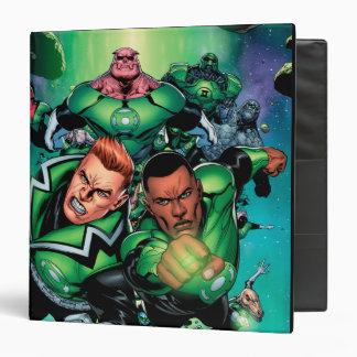 Green Lantern Corps 3 Ring Binder