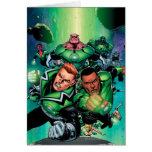 Green Lantern Corps Greeting Card
