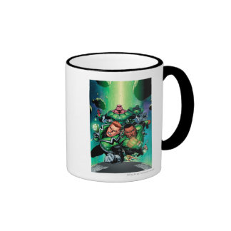 Green Lantern Corps Ringer Coffee Mug