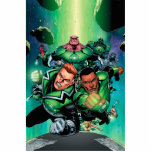 Green Lantern Corps Standing Photo Sculpture