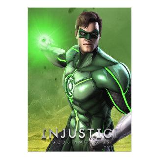 Green Lantern Custom Announcements