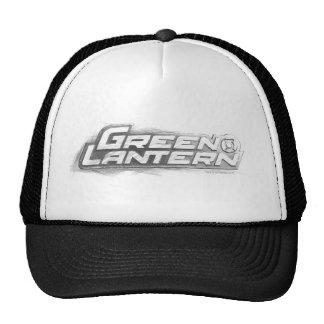 Green Lantern Drawing Mesh Hats