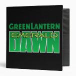 Green Lantern - Emerald Dawn Logo Binder