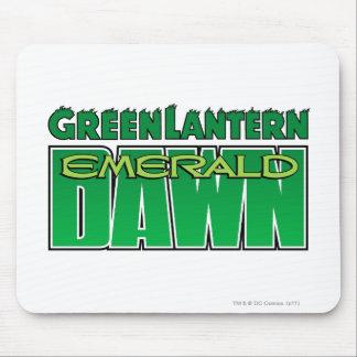 Green Lantern - Emerald Dawn Logo Mouse Pad