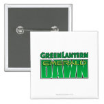 Green Lantern - Emerald Dawn Logo Pinback Button