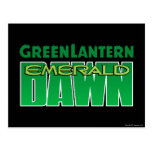 Green Lantern - Emerald Dawn Logo Postcard