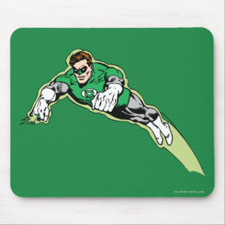 Green Lantern Energy Beam Mouse Pad