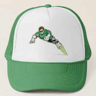 Green Lantern Energy Beam Trucker Hat