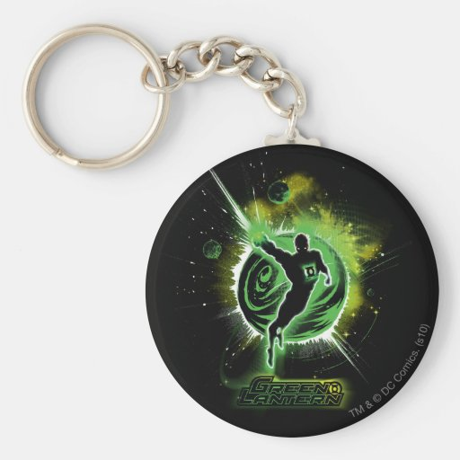 Green Lantern - EO Keychain
