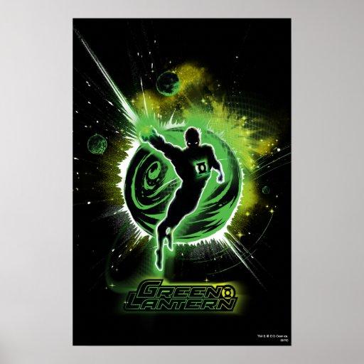 Green Lantern - EO Poster