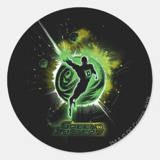 Green Lantern - EO Round Stickers