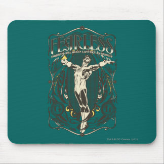 """Green Lantern - """"Fearless"""" Poster Mouse Pad"""