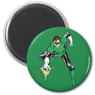 Green Lantern Fight 2 Inch Round Magnet