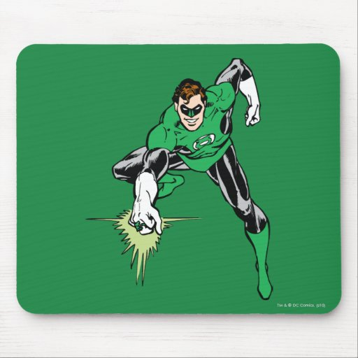 Green Lantern Fight Mouse Pads