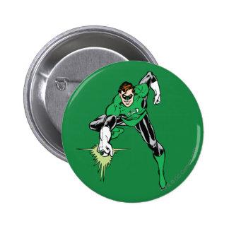 Green Lantern Fight Pinback Button