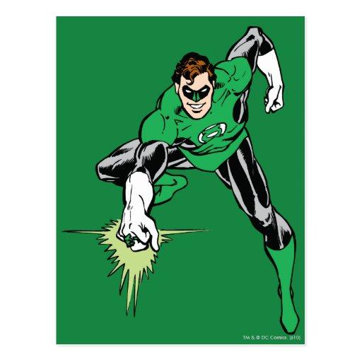 Green Lantern Fight Post Cards