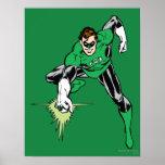 Green Lantern Fight Print