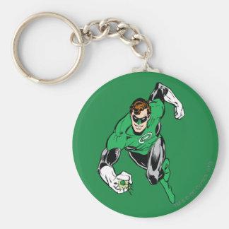 Green Lantern Fly Forward Keychains