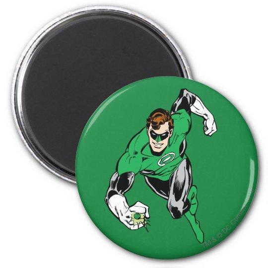 Green Lantern Fly Forward Magnet
