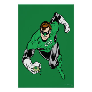 Green Lantern Fly Forward Poster