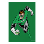 Green Lantern Fly Forward Posters