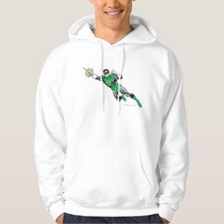 Green Lantern Fly Left 2 Hoodie