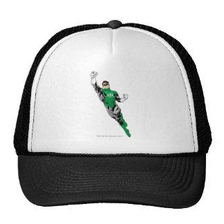 Green Lantern  - Flying Up Trucker Hats