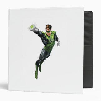 Green Lantern - Fully Rendered,  Arm out 3 Ring Binder