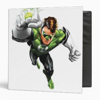 Green Lantern - Fully Rendered,  Arm Raise Binder