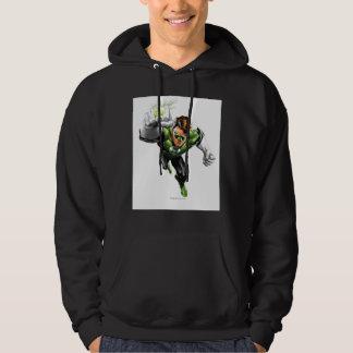 Green Lantern - Fully Rendered,  Arm Raise Hoodie