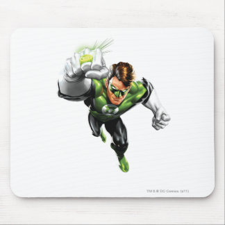 Green Lantern - Fully Rendered,  Arm Raise Mouse Pad