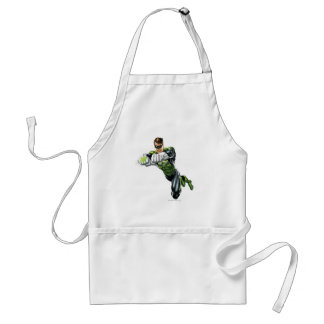 Green Lantern - Fully Rendered,  Both arms forward Adult Apron