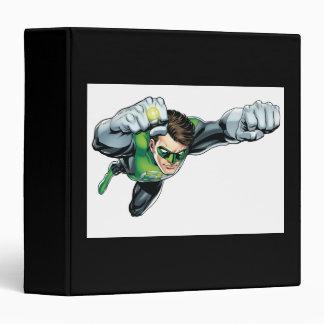 Green Lantern - Fully Rendered,  Flying Right Binder