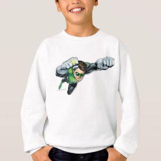 Green Lantern - Fully Rendered,  Flying Right Sweatshirt