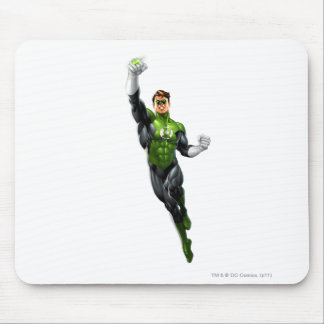 Green Lantern - Fully Rendered,  Flying Up Mouse Pad