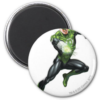 Green Lantern - Fully Rendered,  Jumping 2 Inch Round Magnet