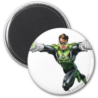 Green Lantern - Fully Rendered,  Looking Forward Magnet