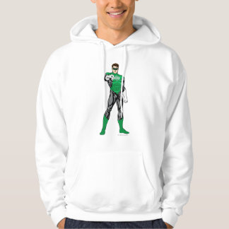 Green Lantern - Fully Rendered,  Standing Hoodie