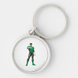 Green Lantern - Fully Rendered,  Standing Keychain
