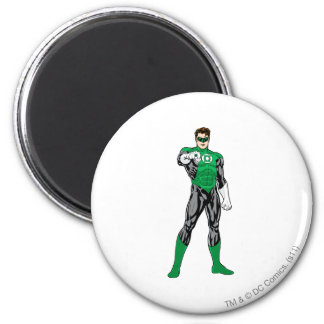 Green Lantern - Fully Rendered,  Standing Magnet