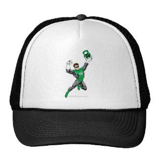 Green Lantern - Fully Rendered,  with lantern Trucker Hat