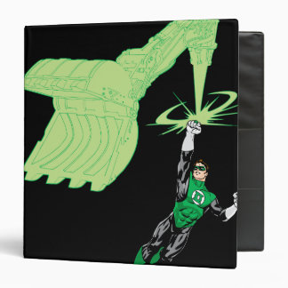 Green Lantern - Fully Rendered,  with machine 3 Ring Binders