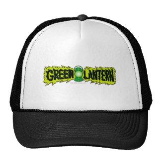 Green Lantern - Glowing Lantern 2 Trucker Hats
