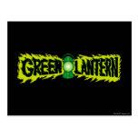 Green Lantern - Glowing Lantern 2 Postcards