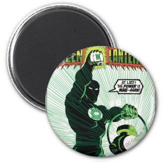 Green Lantern - Glowing Lantern 2 Inch Round Magnet