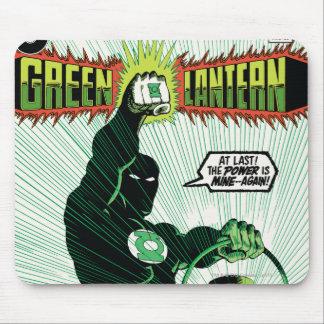 Green Lantern - Glowing Lantern Mouse Pad